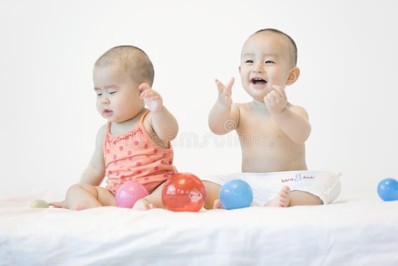 Симпатичные младенцы стоковое фото rf