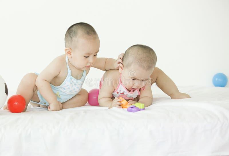Симпатичные младенцы стоковые фото