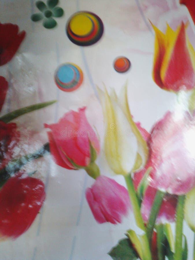 Симпатичные цветки естественные стоковое изображение