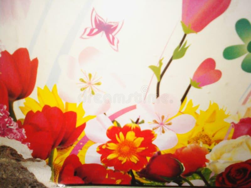 Симпатичные цветки естественные стоковое изображение rf