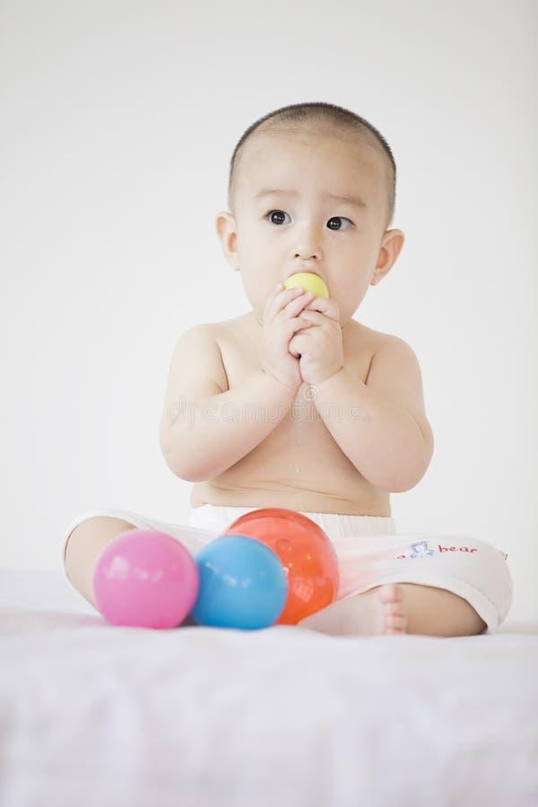 Симпатичный младенец стоковая фотография rf