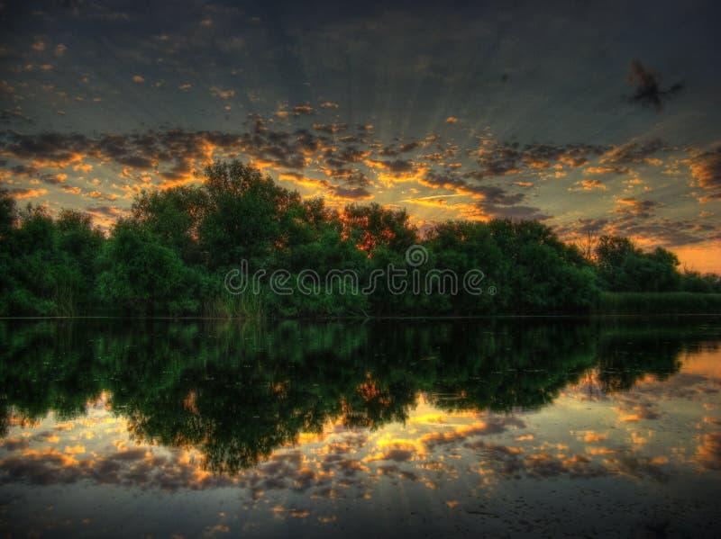 симфонизм восхода солнца стоковое изображение rf