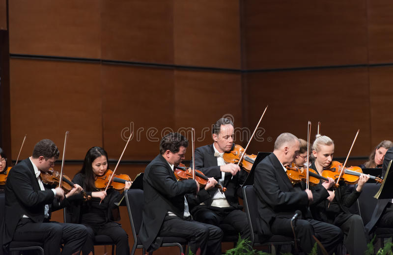Симфонический оркестр радио вены стоковая фотография