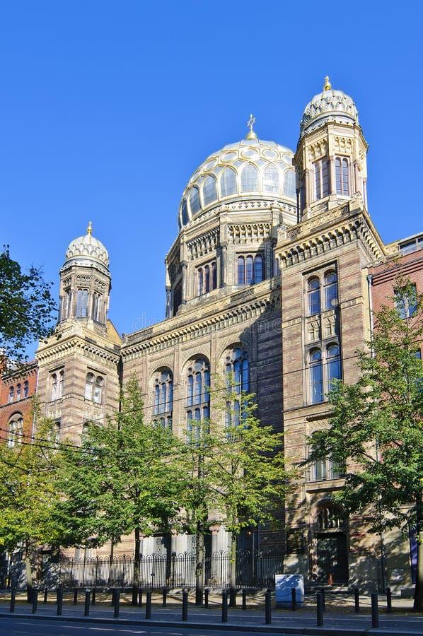 синагога berlin новая стоковое изображение