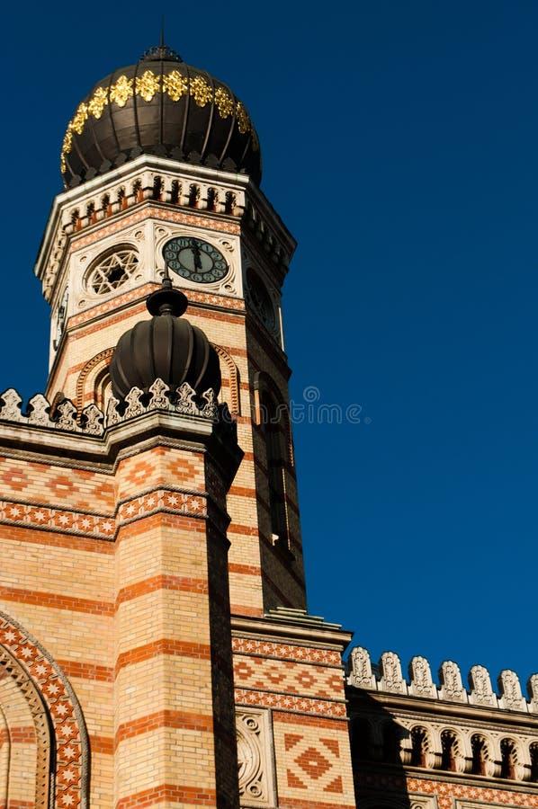 синагога budapest большая стоковые фотографии rf