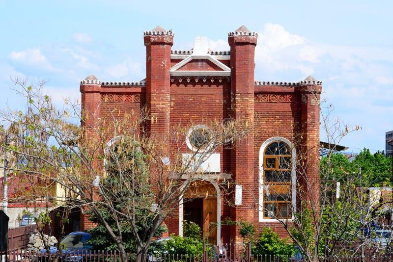 синагога severin turnu drobeta стоковая фотография rf