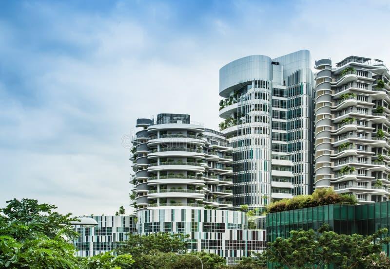 Сингапур 13-ОЕ АВГУСТА 2017: Общая больница Ng Teng Fong в здании Сингапура стоковое фото