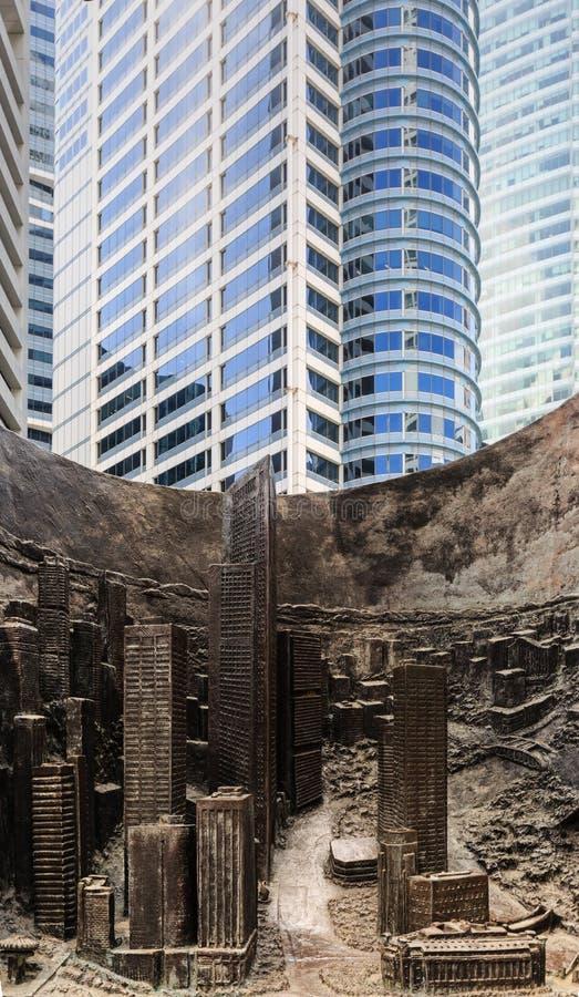 Сингапур 16-ОЕ ФЕВРАЛЯ 2019: Скульптура прогресса и выдвижения на площади места лотерей стоковое изображение rf