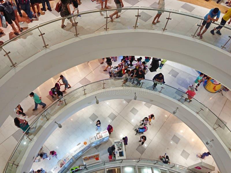 Сингапур: Торговый центр стоковые изображения rf