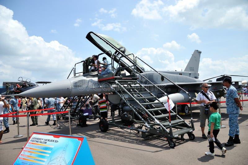 Сингапур Airshow 2014 стоковые изображения