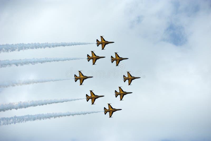 Сингапур Airshow 2014 стоковые изображения rf