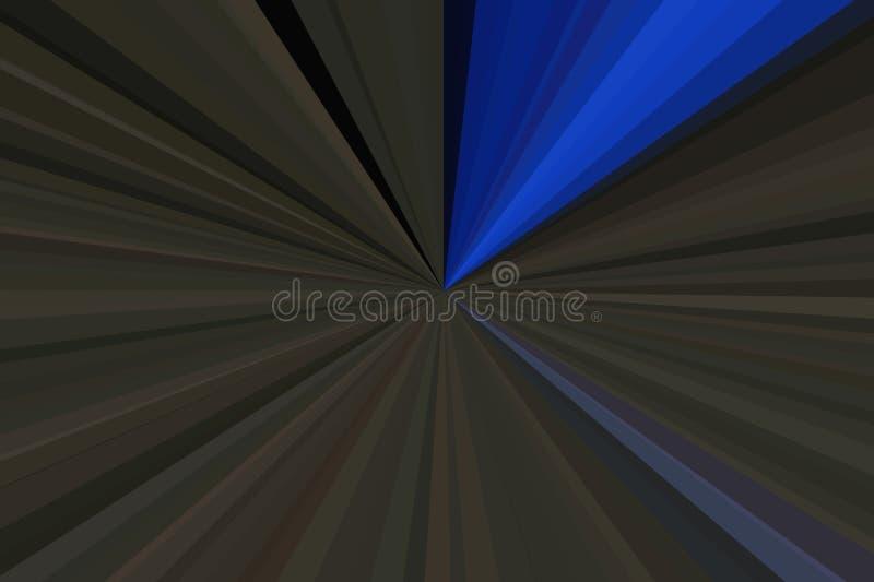 Синие лучи цвета предпосылки конспекта света Stripes конфигурация пучка излучения Цвета тенденции стильной иллюстрации современны стоковое фото rf