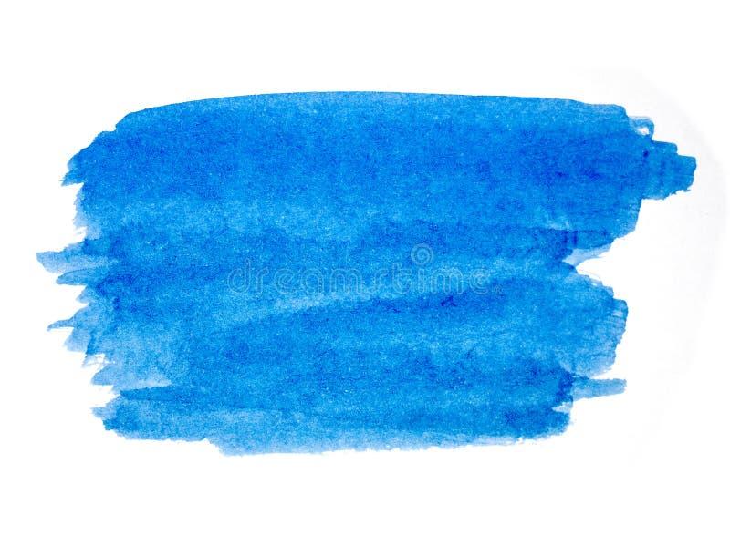 Синий цвет воды изолирован на белом фоне бесплатная иллюстрация