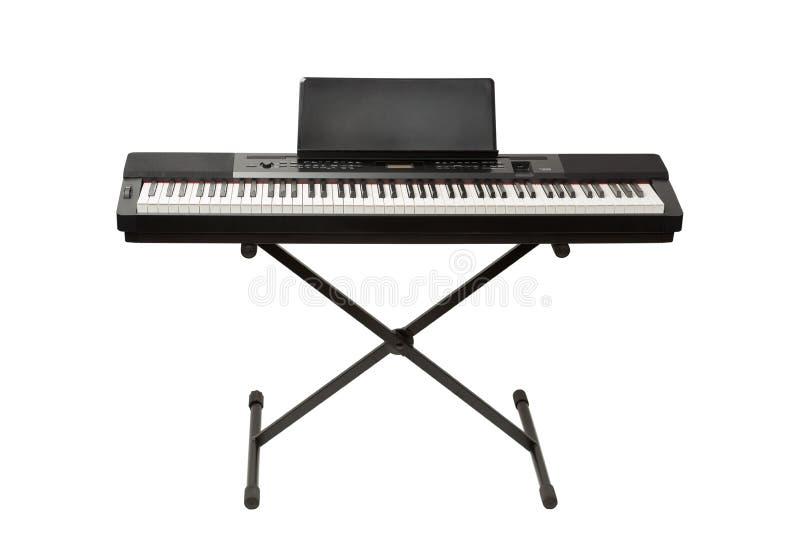 Синтезатор рояля цифров стоковое изображение