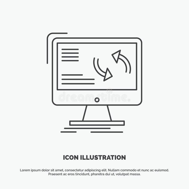 синхронизация, синхронизация, информация, данные, значок компьютера r бесплатная иллюстрация