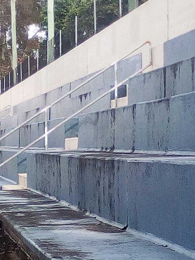 Синь ванны стоковая фотография rf