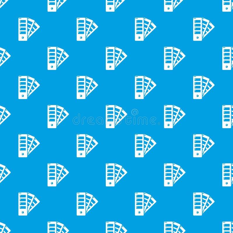 Синь вектора картины гида палитры безшовная иллюстрация вектора
