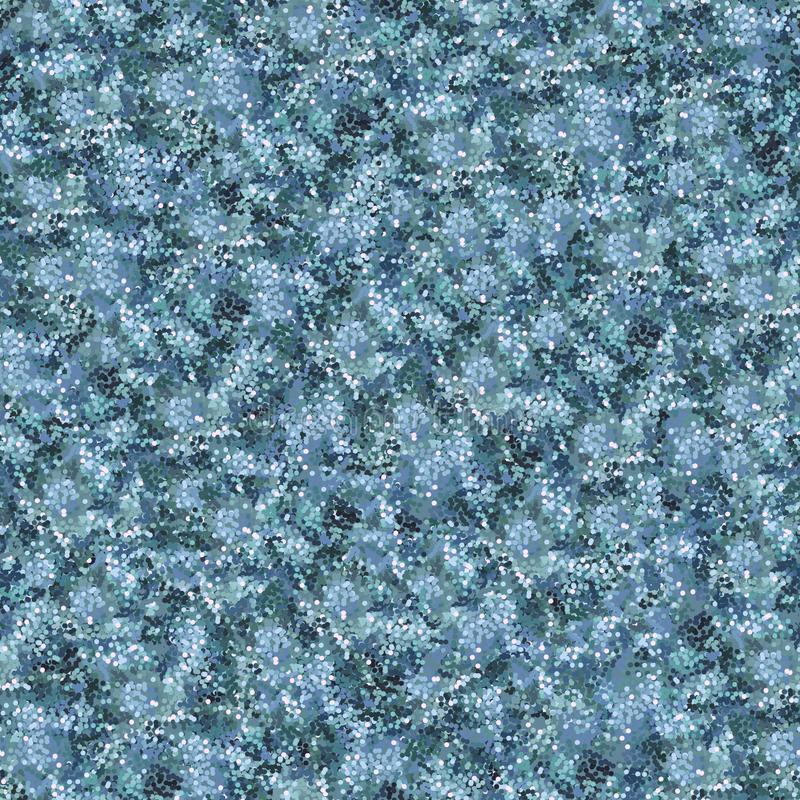 Синь запятнала текстурированную предпосылку Много multi покрашенных точек бесплатная иллюстрация