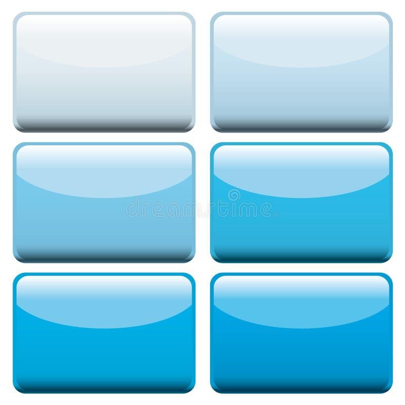 синь застегивает сеть иллюстрация штока