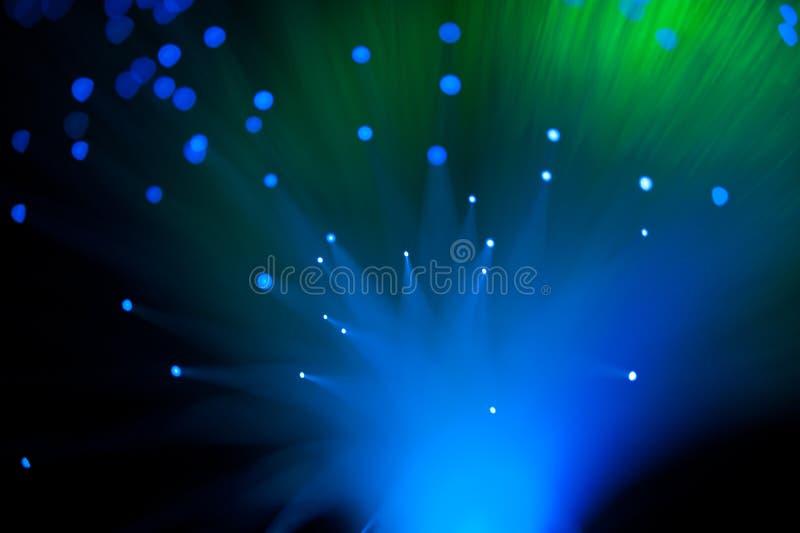 Синь и зеленые светы стоковое фото