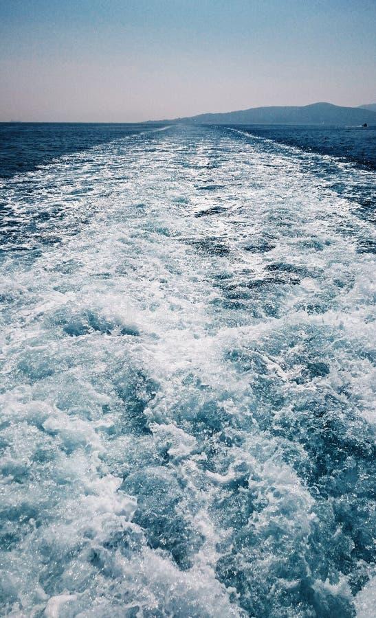 Синь моря стоковое фото rf