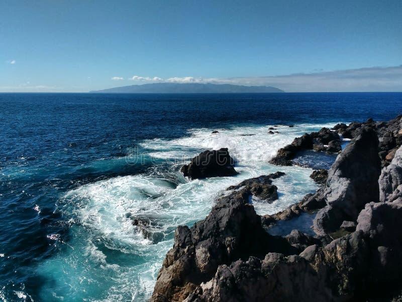 Синь океана стоковое изображение rf