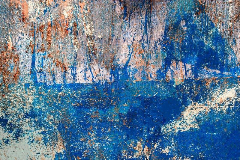 Синь покрасила деревянные планки как предпосылка или текстура, искусственная картина стоковое изображение rf