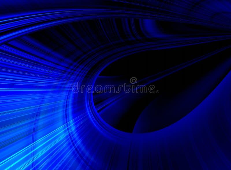 синь предпосылки абстракции иллюстрация вектора
