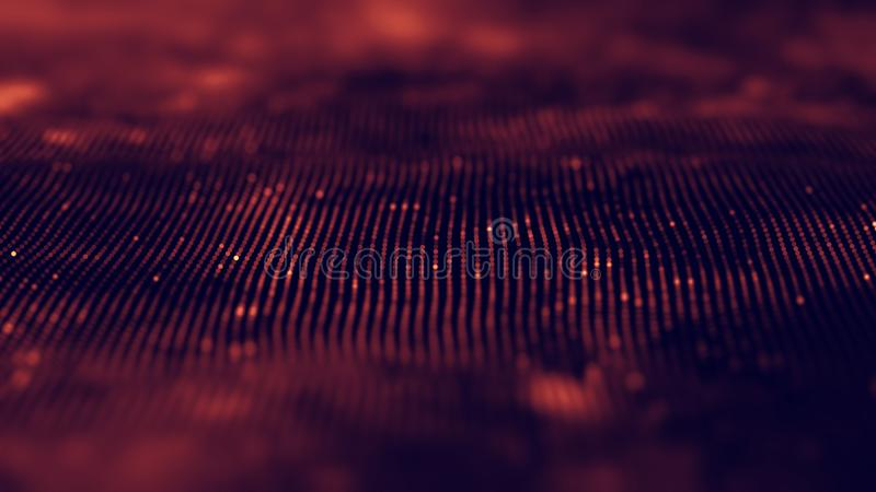 Синь предпосылки музыки абстрактная Выравниватель для музыки, показывая звуковые войны с музыкой развевает, выравниватель предпос стоковые фотографии rf
