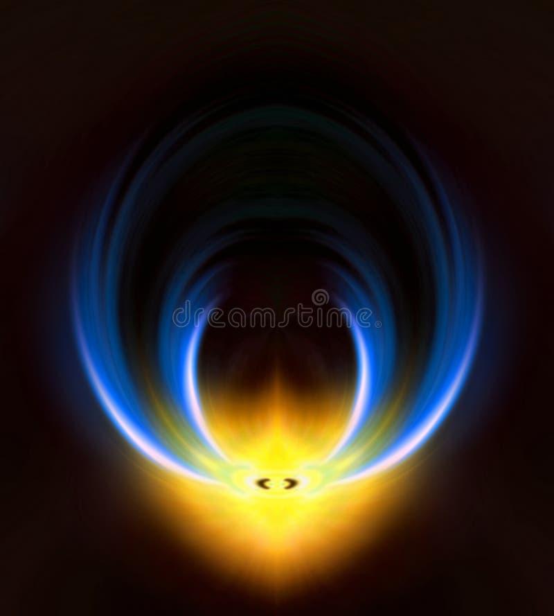 синь предпосылки стоковое изображение