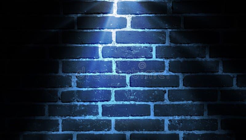 Синь предпосылки освещения пятна стоковое изображение rf