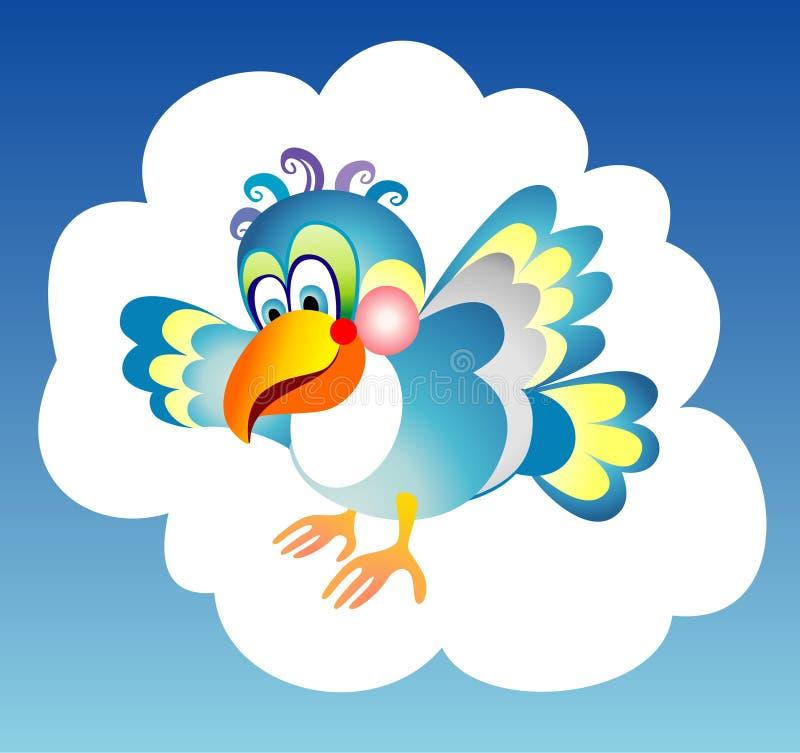 синь птицы бесплатная иллюстрация