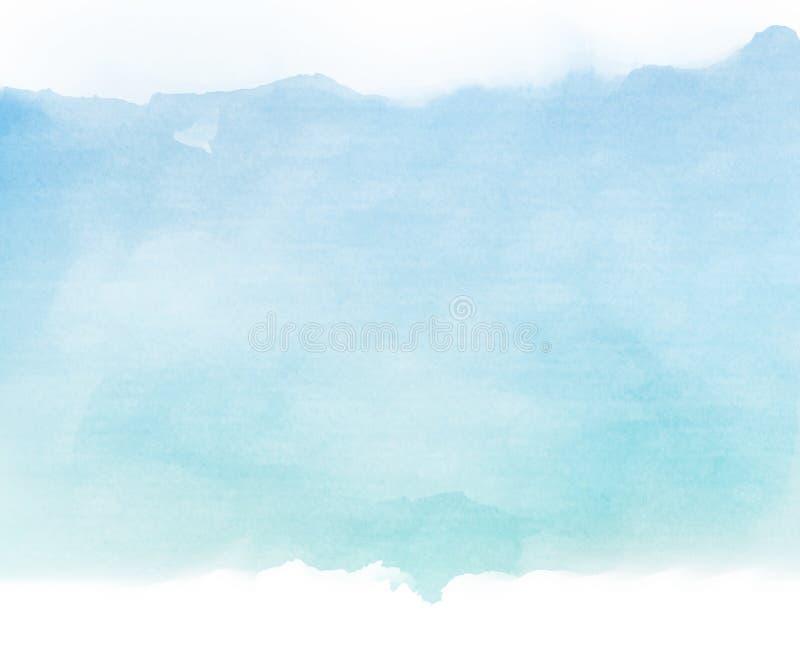 Синь тонизирует цвет воды на старой бумажной предпосылке текстуры бесплатная иллюстрация