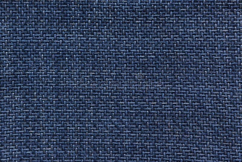 Синяя текстура картины ткани стоковые фото