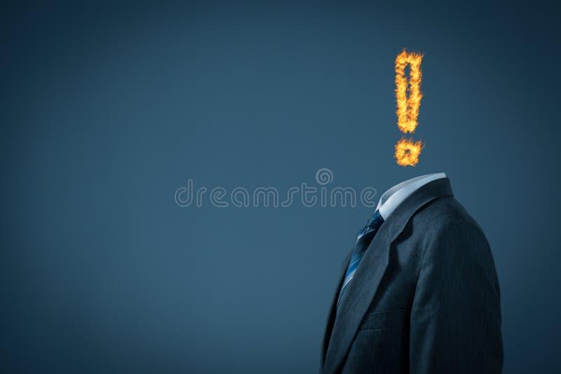 Синдром прогара стоковое фото rf
