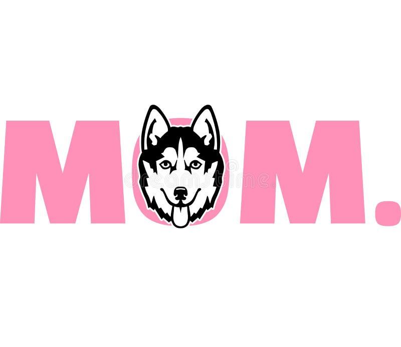 Сиплая мама в пинке бесплатная иллюстрация