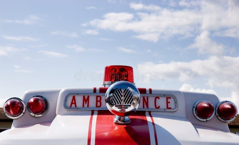 сирена машины скорой помощи стоковая фотография