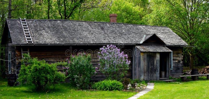 Сирени домом стоковое изображение