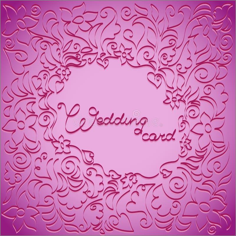 Сирен-розовый цветочный узор бесплатная иллюстрация