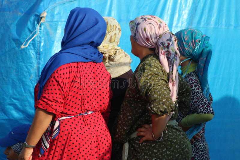 Сирийские женщины стоковые изображения rf