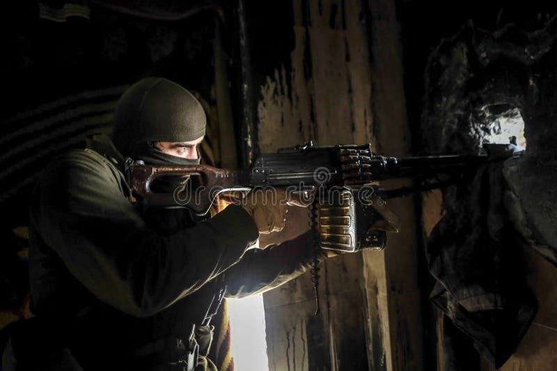 Сирия: Аль-Каида в Халебе стоковое изображение rf