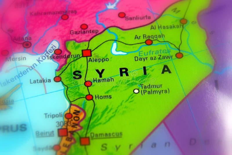 Сирия, сирийская арабская республика стоковое фото