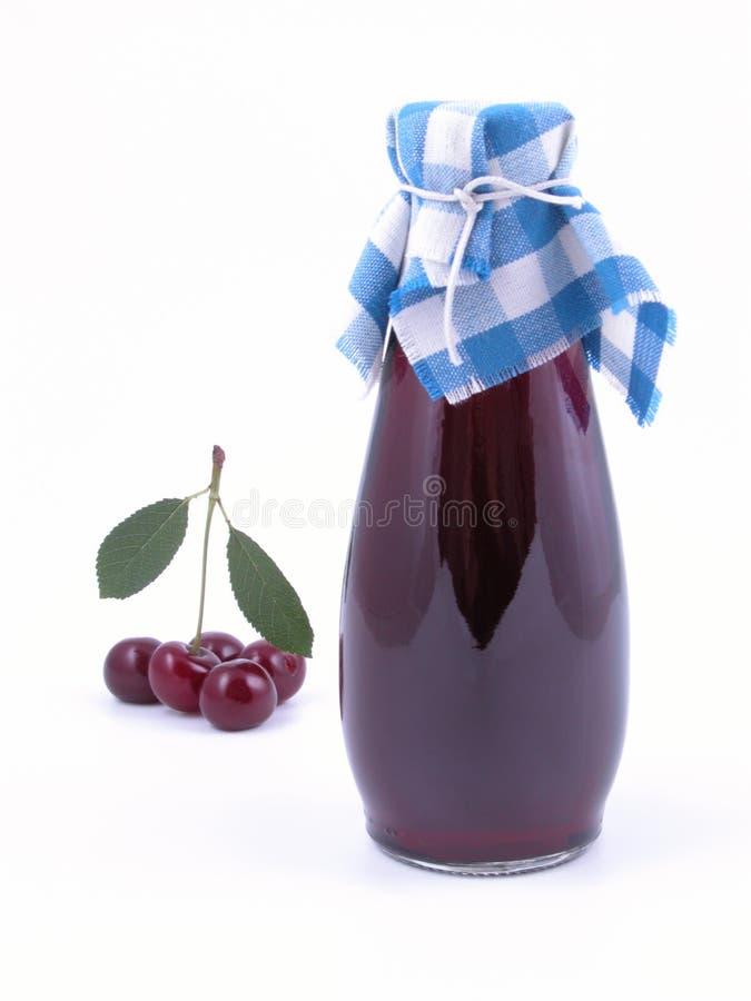 сироп вишни стоковая фотография rf