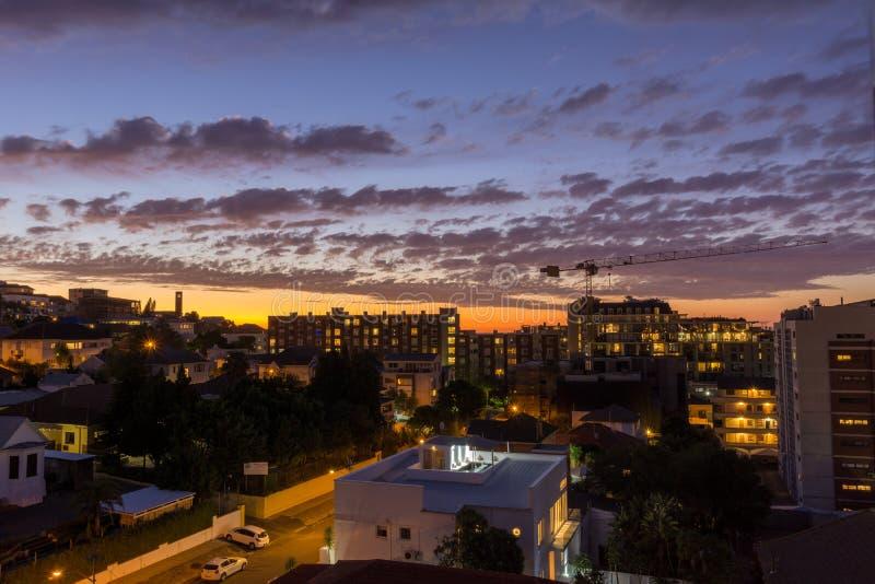 Сиротливый в Кейптауне стоковое изображение rf