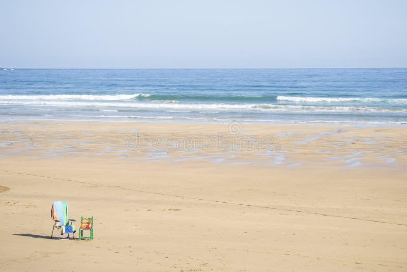 Сиротливый пляж стоковое изображение