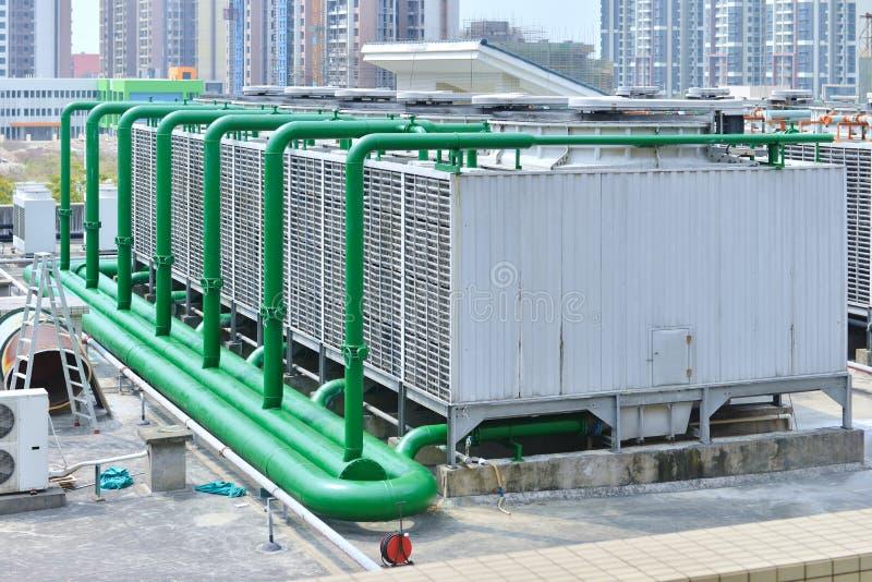 Система воздуха холодная подготовляя стоковое фото rf
