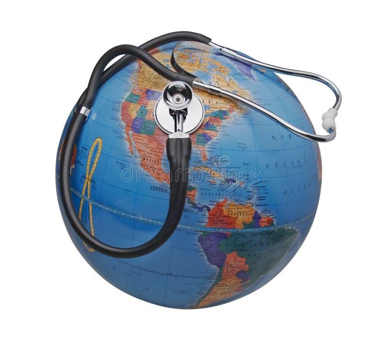 система медицинского соревнования земли больная мы стоковая фотография rf