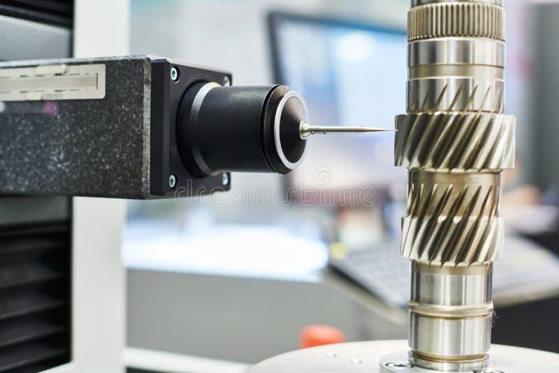 Система метрологии для gerar осмотр зонда датчика шестерни стоковое изображение rf
