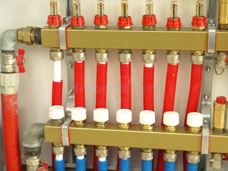 система отопления конструкции стоковые изображения rf