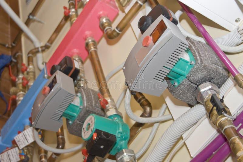система отопления стоковое изображение rf